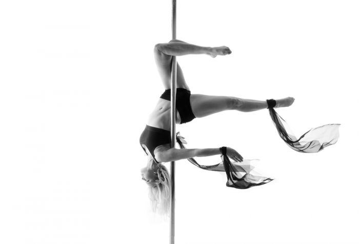 level 2 pole fitness