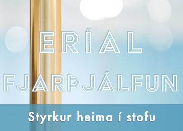 Styrkur heima í stofu - Fjarþjálfun